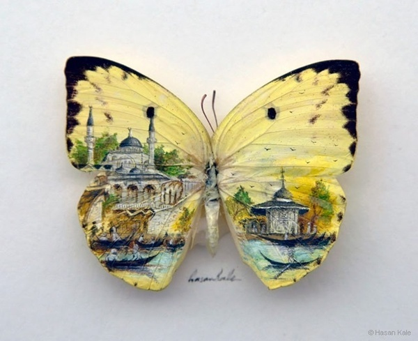 Miniature Art by Hasan Kale #painting #art