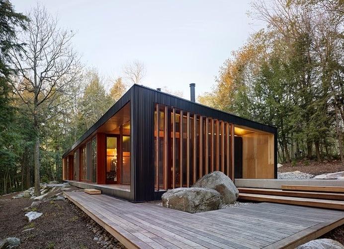 The Clear Lake Cottage #interior #design #architecture