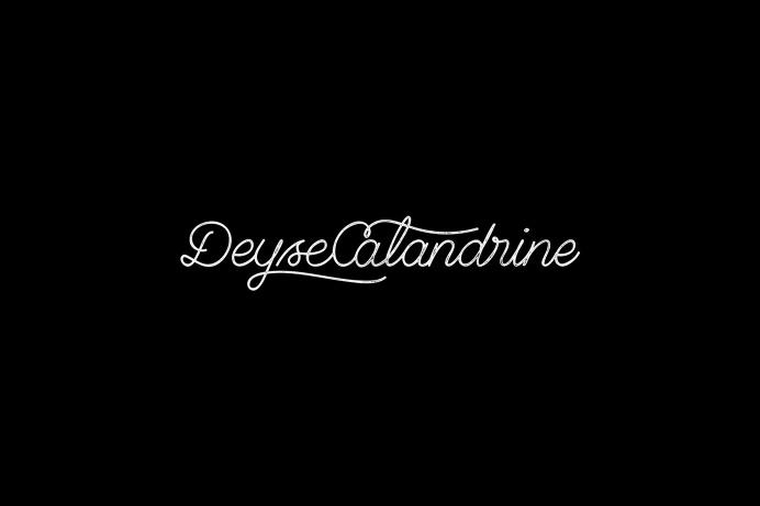 Deyse Calandrine - Logo #typography #lettering #logo