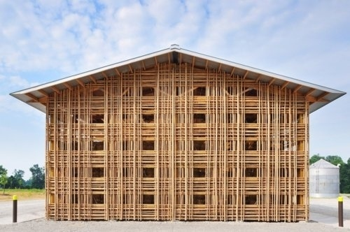 ASAP House #shed #bamboo #architecture #farm