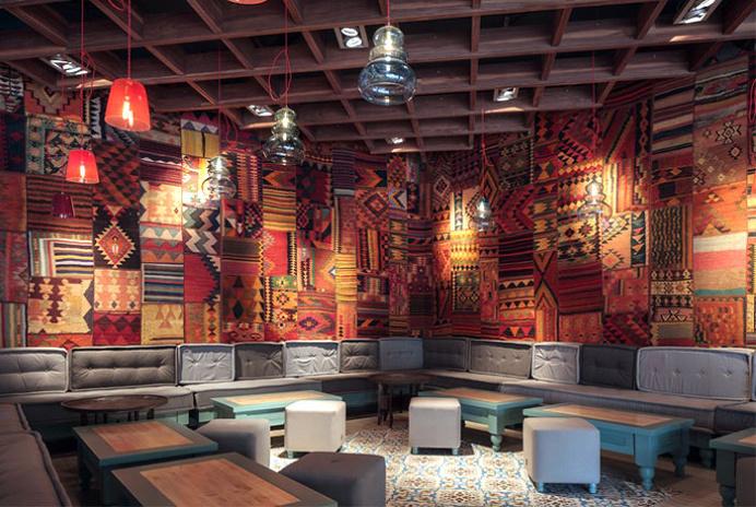 Exotic Oriental Restaurant Decor - #decor, #interior, #restaurant