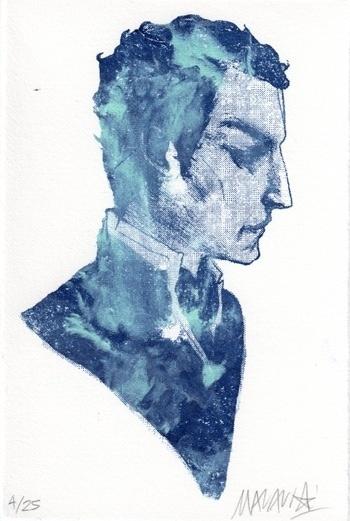 Prints : Nimit Malavia #boy #profile #poster