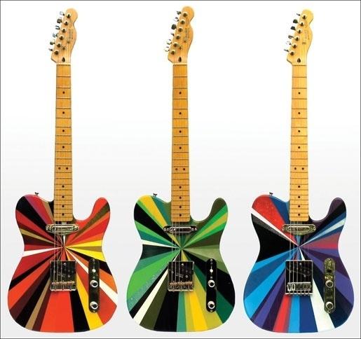 MWM Graphics | Matt W. Moore #abstract #guitar #color #shapes
