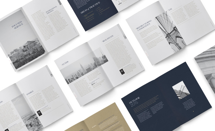 Papapolitis Brochure by Kommigraphics #brochure #layout #typography #corporate #law #firm