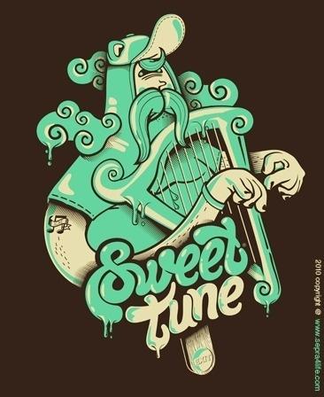 Sweet tune by sepra4life #digital #design #art #vector