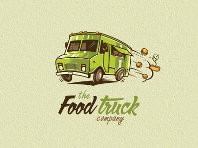 Fud #truck #branding #food #illustration #logo