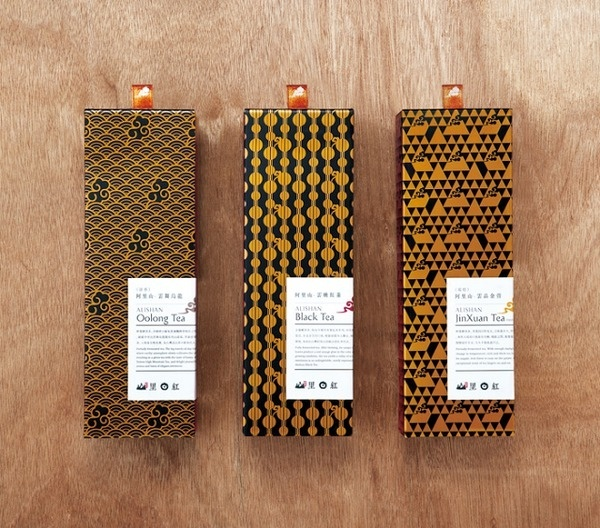 Packaging of the World: Creative Package Design Archive and Gallery: Alishan Tea Science #packaging #tea