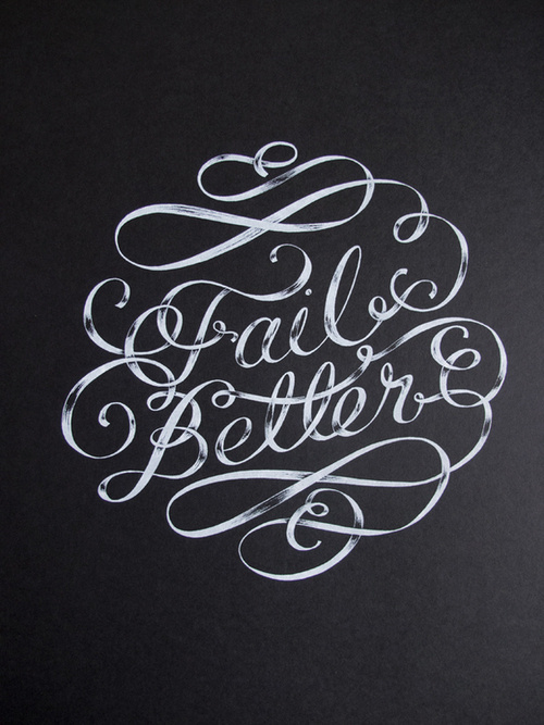 Typeverything.com - FAIL BETTER MURALÂ Designed by Maricor Maricar. #typography