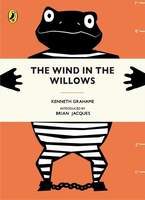 Penguin Design Award 2013. The Wind in the Willows by Kenneth Grahame. Winner of the Puffin Children's Prize Vicky Mills. #coverdesign #design #graphic #book #penguin