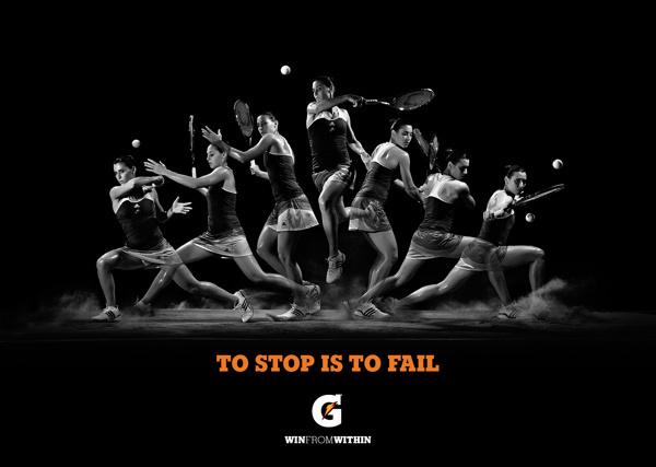 Gatorade No limits last forever on Behance #gatorade