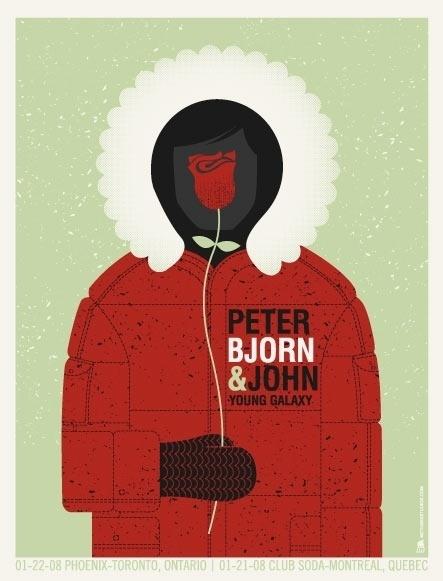 25 beautiful gig posters | The Hatched Blog #gig #design #illustration #poster #art #music