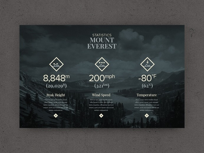 EVER WONDER™ // Mount Everest by @STUDIOJQ on @dribbble https://dribbble.com/shots/1800679-EVER-WONDER-Mount-Everest #icon set #icon #vect