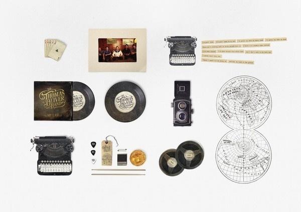 Best Awards Grafik and Mdigital. / The Thomas Oliver Band #grid #objects