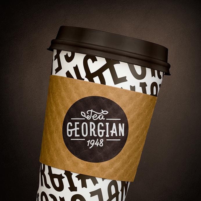 Грузинский чай – больше, чем чай. Фрагмент первой презентации проекта. #georgian #hot #tea #paper #cup