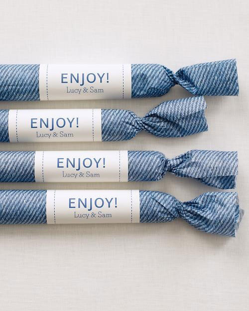 Blue Sweets Packaging
