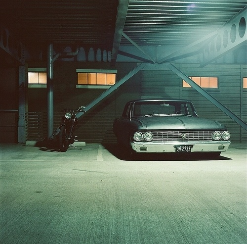 Untitled | Flickr - Photo Sharing! #american #car #bike #parking