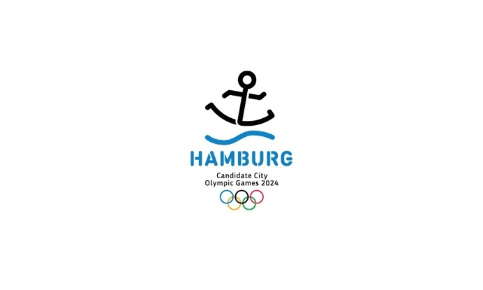 corporate design concept for the 2024 Olympic Games candidacy of Hamburg #Olympics #Hojin Kang #Barbara Madl #cameokid #branding #logo #grap