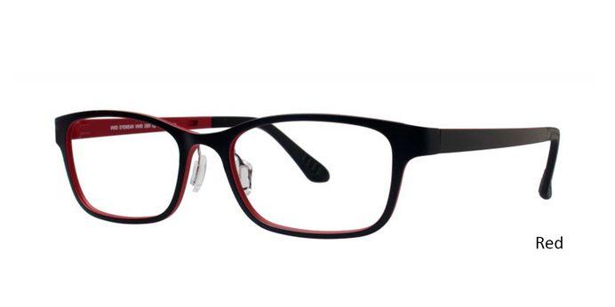 Red Vivid Eyeglasses Vivid Boutique Ultem 2001.
