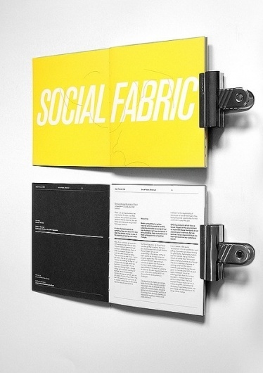 clean-futures5 | Flickr - Photo Sharing! #design #graphic #grid #spread #brochure #typography