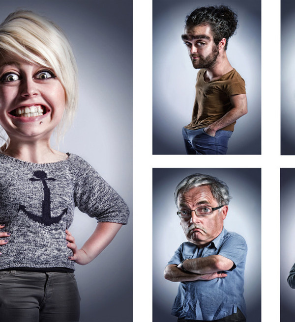 Caricature Project by Lee Howell #inspiration #photography #humor