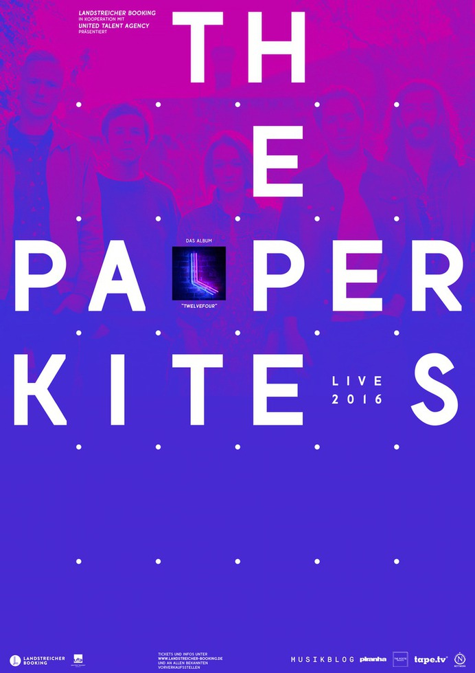 The Paper Kites Germany, 2016
