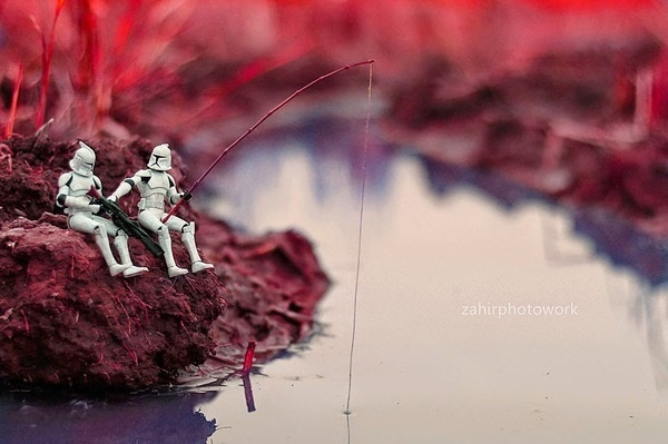 Star Wars Toys by Zahir Batin #inspration #photography #art