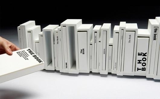 XLII — MEDIUM: EXTRA LARGE #shelf #white #book #books