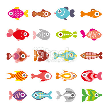 Aquarium Fishes #logotype #icon #elements #fish #graphic #design #aquarium #logo #animal