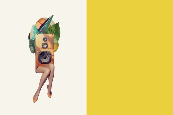 Candela Spring 12 on the Behance Network #collage