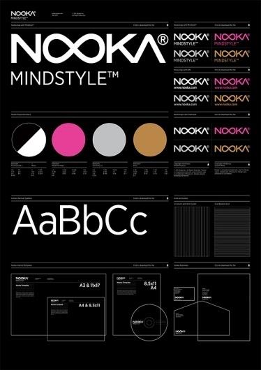 Google Image Result for http://www.underconsideration.com/brandnew/archives/nooka_02.jpg #guidelines #brand #identity #poster #standards #nooka