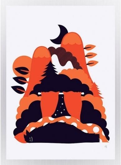 grain edit · Onesidezero / Brett Wilkinson #illustration #design #poster