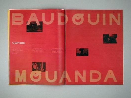 Todos os tamanhos | Jornal Próximo Futuro 06 | Flickr – Compartilhamento de fotos! #bold #type #red #editorial