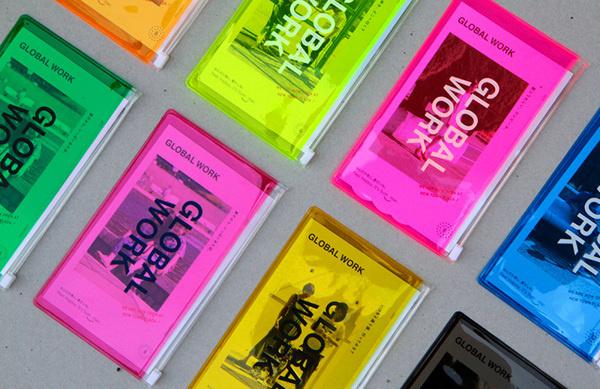 designeverywhere:Global Work 2013 SS #folio #color #folder #neon