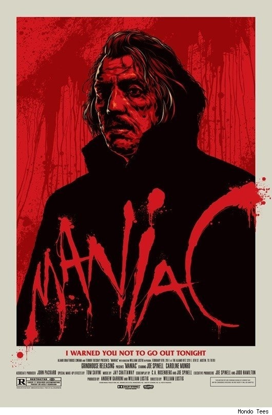 Spotlight on William Lustig: Maniac / Vigilante October 18, 2012 A Halloween double feature from the dirty fingernails of one of horror' #movie #retro #poster