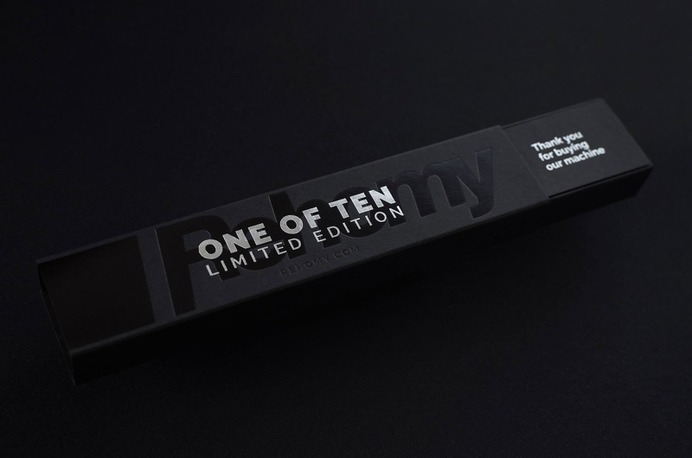 Check out this high quality box for limited edition pens.