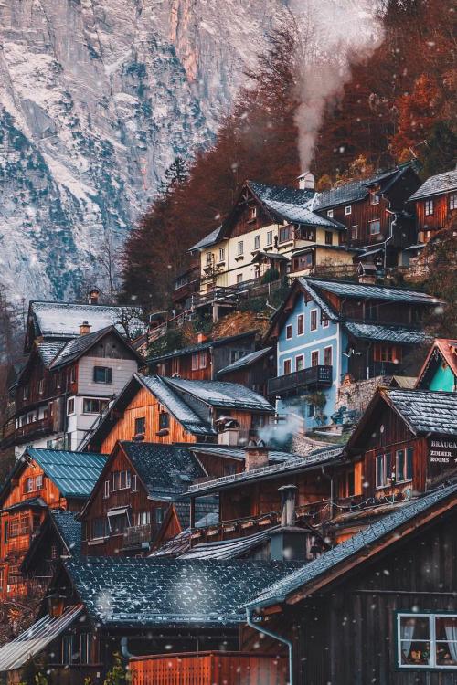 Hallstatt, Austria by James Relfdyer