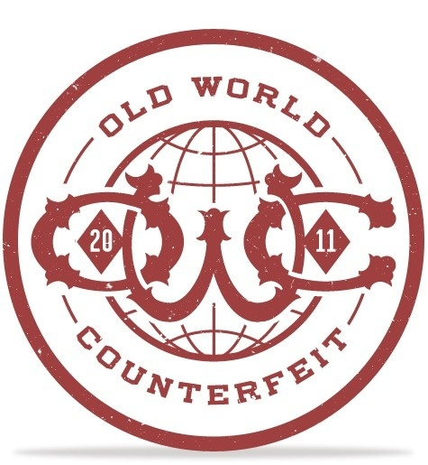 Old World Counterfeit #logo #owc #branding
