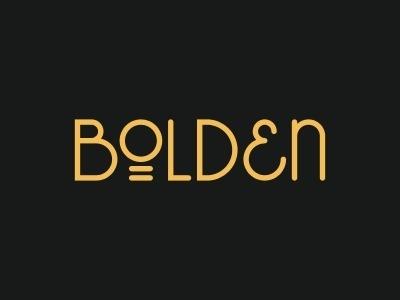 Dribbble - Bolden. by Tim Boelaars #logo #identity #typography