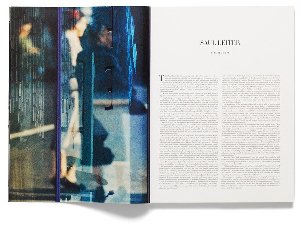 14th issue Winter 2012 — manhattan #magazine #type #layout #paper #editorial #acne