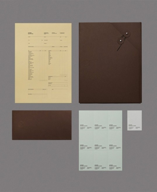 Crosby #official #packaging #formal #identity #stationery