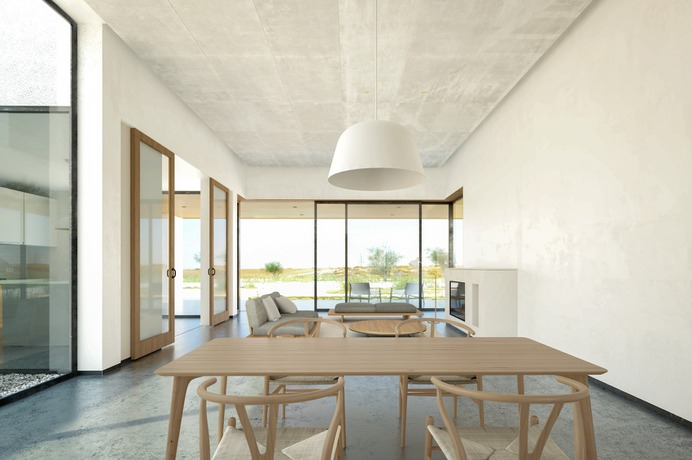 Pedraza House by AQSO arquitectos office