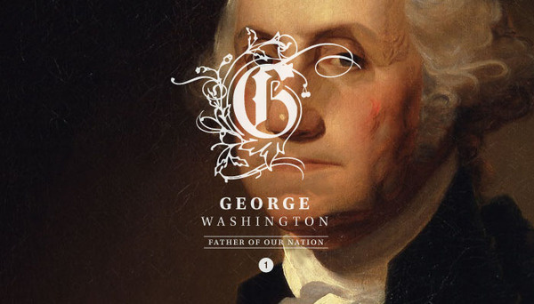 Branding the presidents! First President: George Washington 1732-1799 #branding