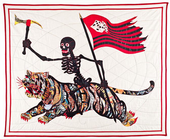Ben Venom #thread #quilt #fabric #harley #hand-made #t-shirts #leather #batting #davidson