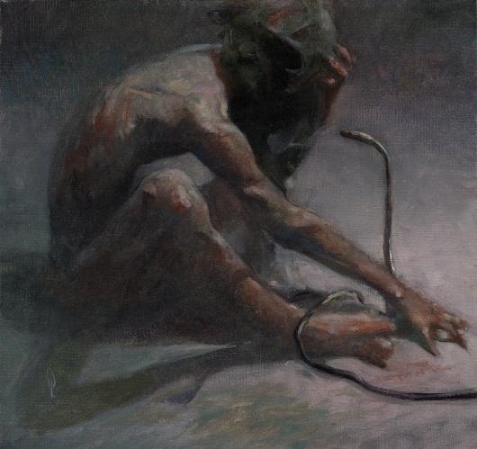George Pratt.com/PAINTINGS #oil #painting #snake
