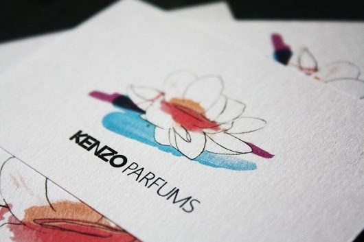 Isabelle Laydier #isabelle #business #kenzo #card #laydier