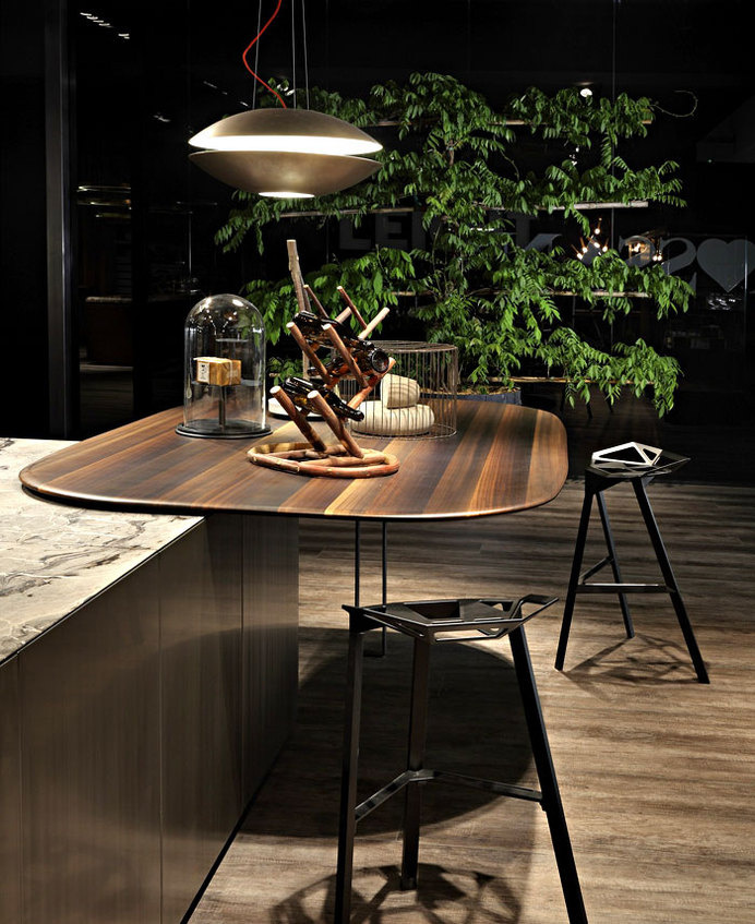 HT50 Kitchen System Design by Massimo Castagna individual functional area #interior #design #decor #home #kitchen