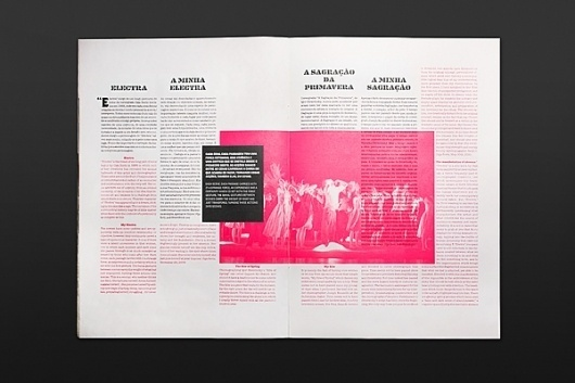GUIDANCE 2011 on the Behance Network #layout #brochure #typography