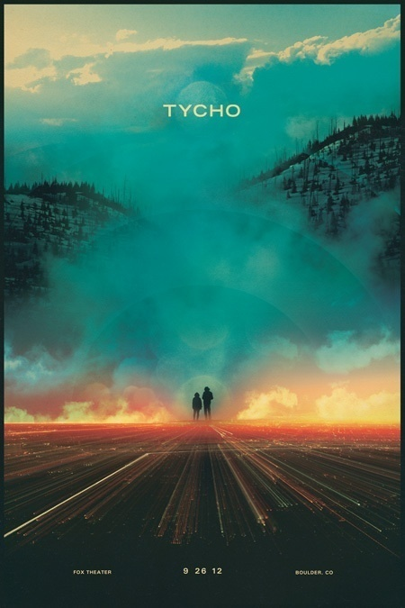 Tycho (via Posters) #tycho #design #poster