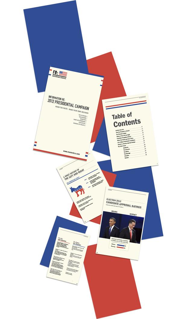 Re: America #politics #branding #campaign #design #election #identity #america