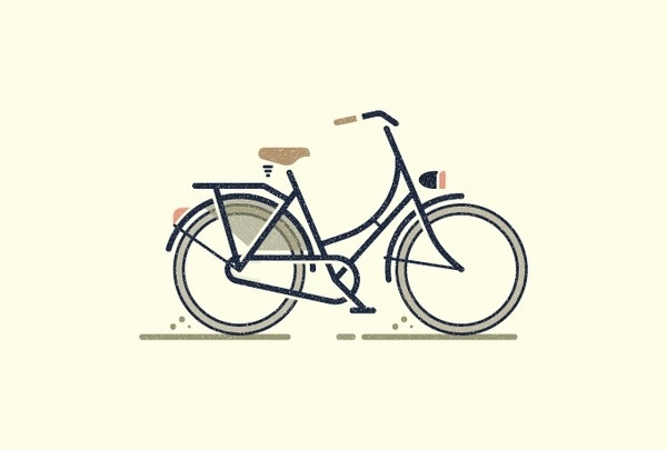 Icon Bicycle by Sascha Elmers